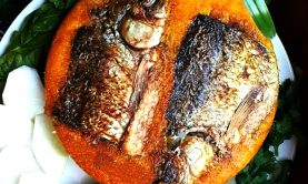 ته انداز ماهی ( ته چین ماهی) – (غذا برای ۴ نفر)