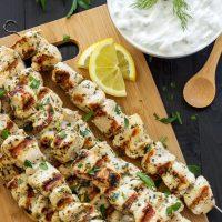طرز تهیه جوجه کباب یونانی