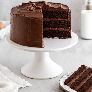 کیک شکلاتی ساده و آسان
