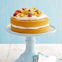 کیک هل و وانیل
