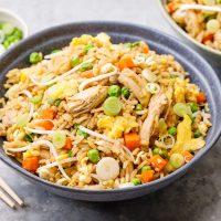 سالاد برنج